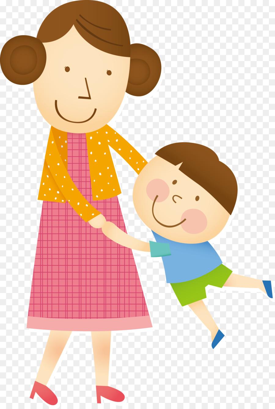 Animasi Ibu Dan Anak : animasi, Download, 1335*1987, Transparent, Child, Download., CleanPNG, KissPNG