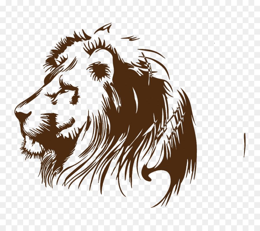 Löwe Comic Zeichnen - Tier Malen