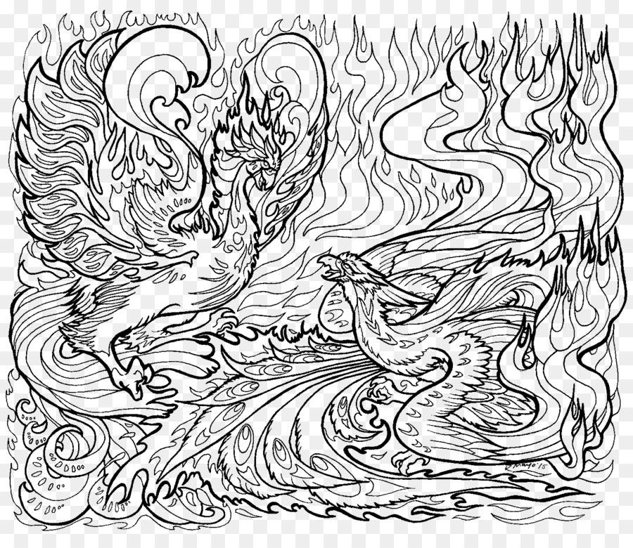 Ausmalbilder Fur Erwachsene Drachen