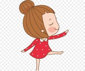 Girl Cartoon png download 706*755 Free Transparent Dance png Download CleanPNG / KissPNG