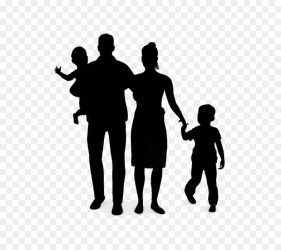 People Silhouette png download 688*800 Free Transparent Family png Download CleanPNG / KissPNG