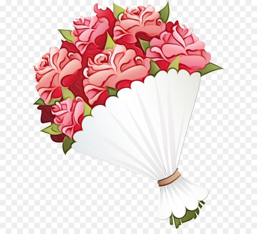 cut flowers bouquet pink