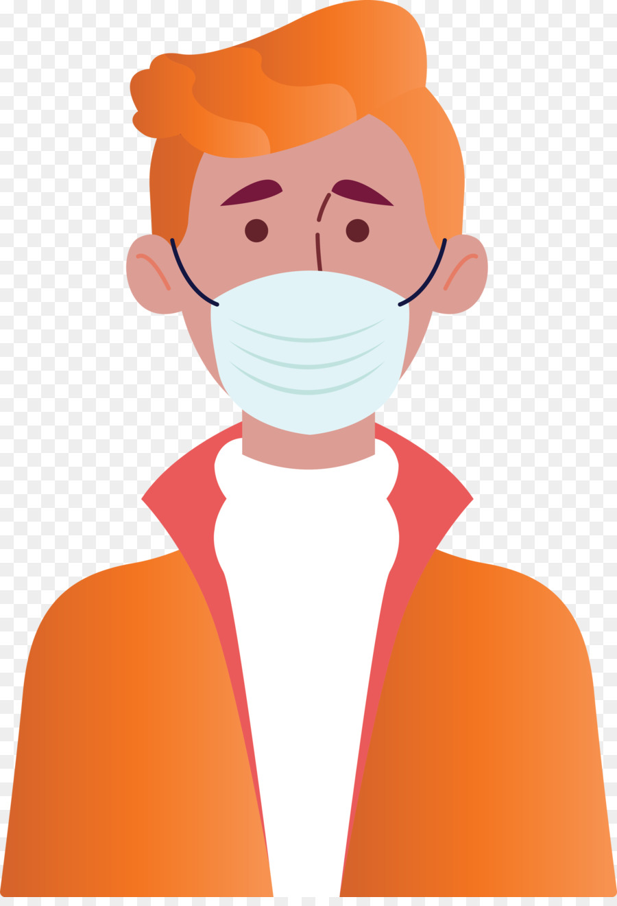 Animasi Orang Pakai Masker Png : animasi, orang, pakai, masker, Wearing, Coronavirus, Corona, Download, 2066*3000, Transparent, Download., CleanPNG, KissPNG