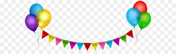 balloon clip art - party streamer