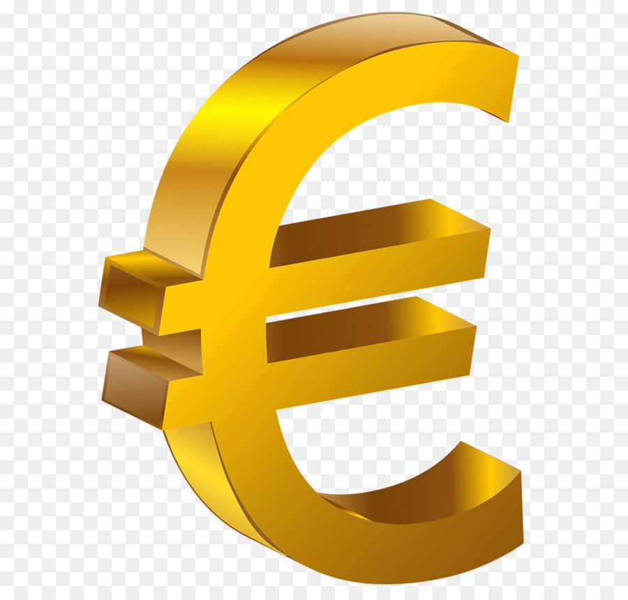 Euro Sign Clip Art Transparent Gold Euro Png Clipart 951 1257 Transprent Png Free Download