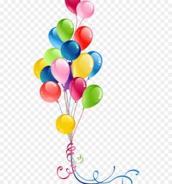 balloon birthday greeting note cards heart petal png [ 900 x 1040 Pixel ]