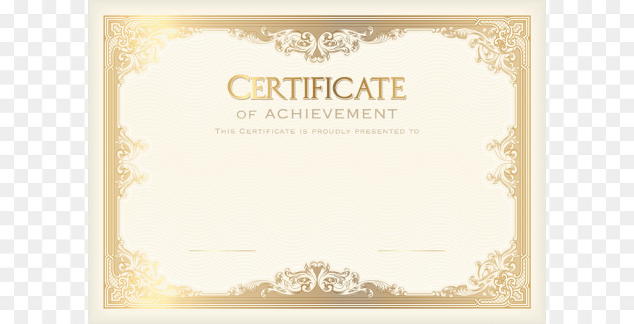 Academic Certificate Student Template Poster School Certificate Template PNG Clip Art Image