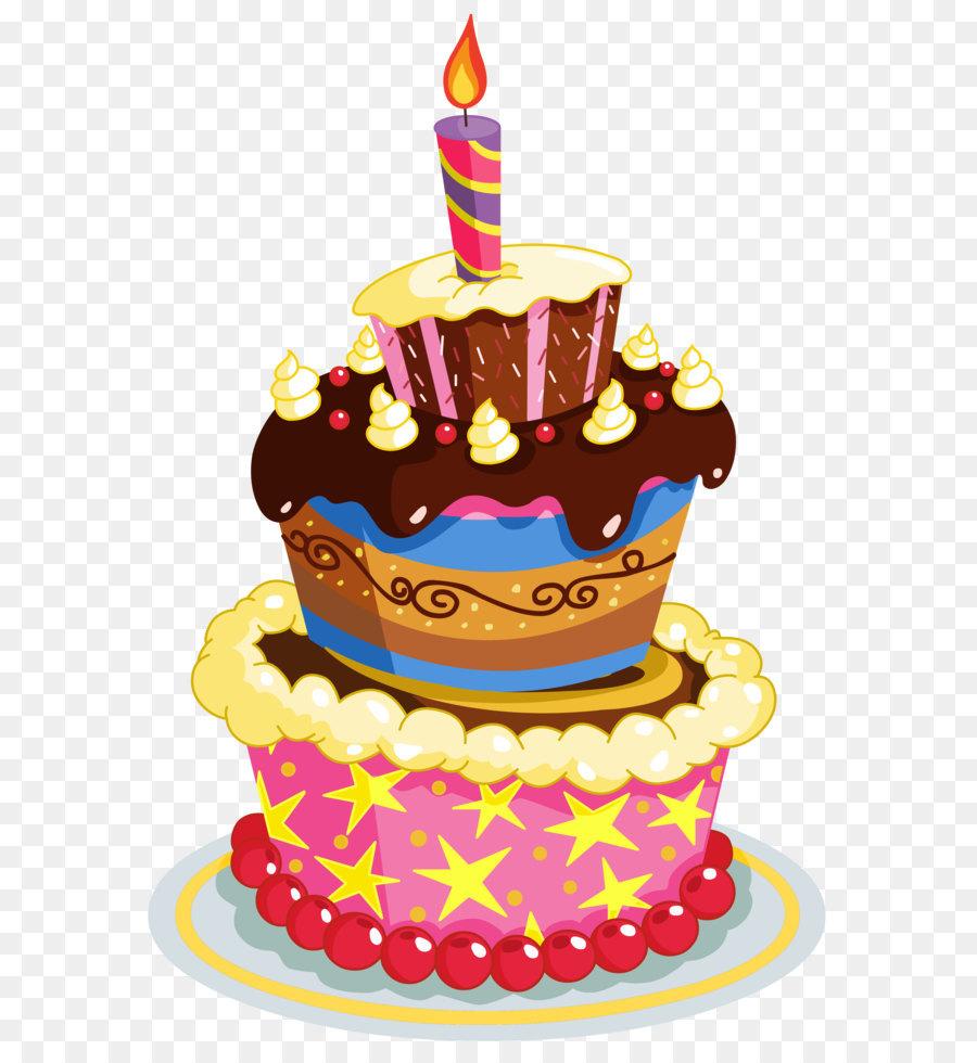 Geburtstagstorte Torte Clipart