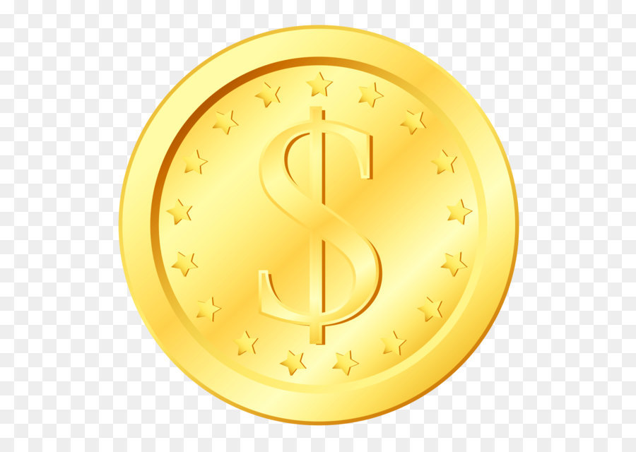 Icon Coin Clip art  Gold Coin Transparent PNG Clipart png