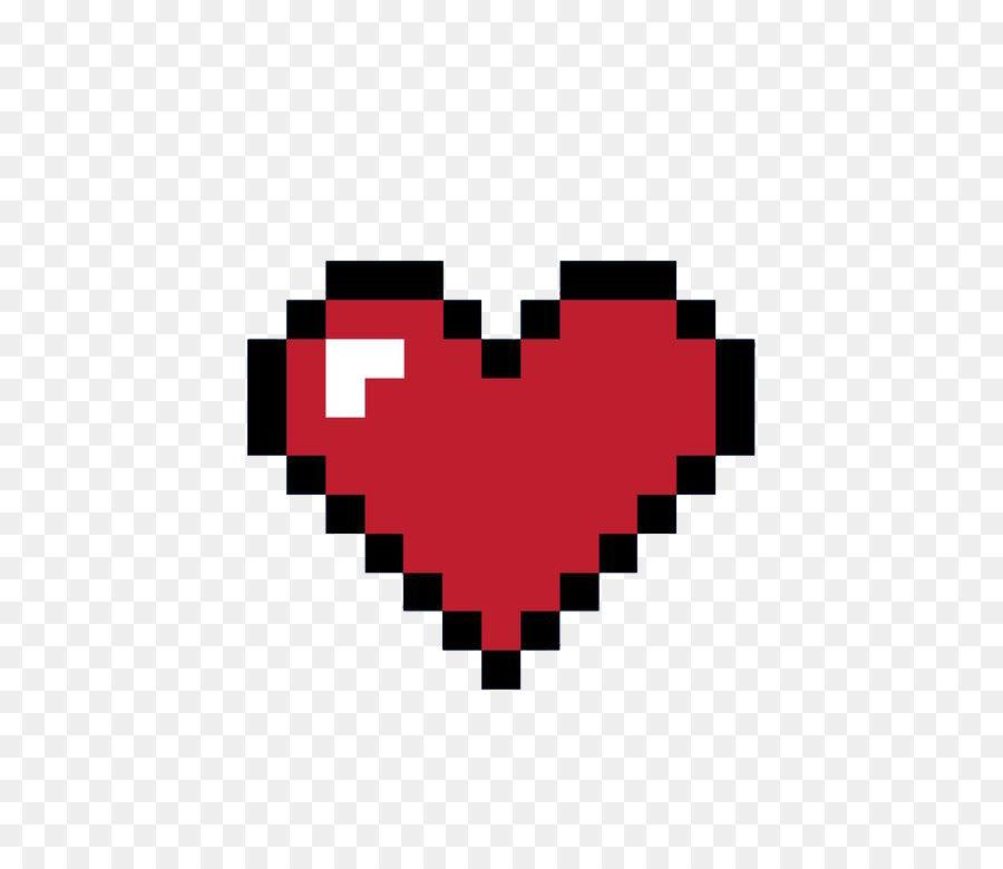 8bit Heart 8 Bit Color Pixel Pixel Love Png Download