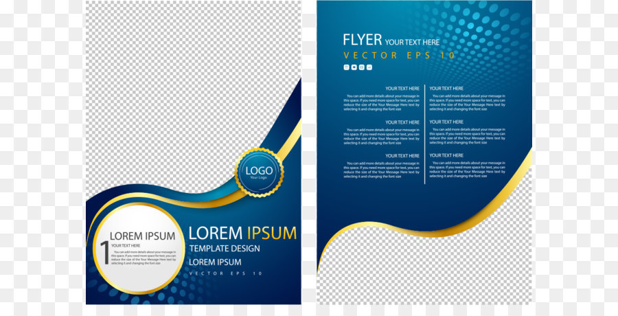 Flyer Poster Advertising Brochure Vector Curve Circle