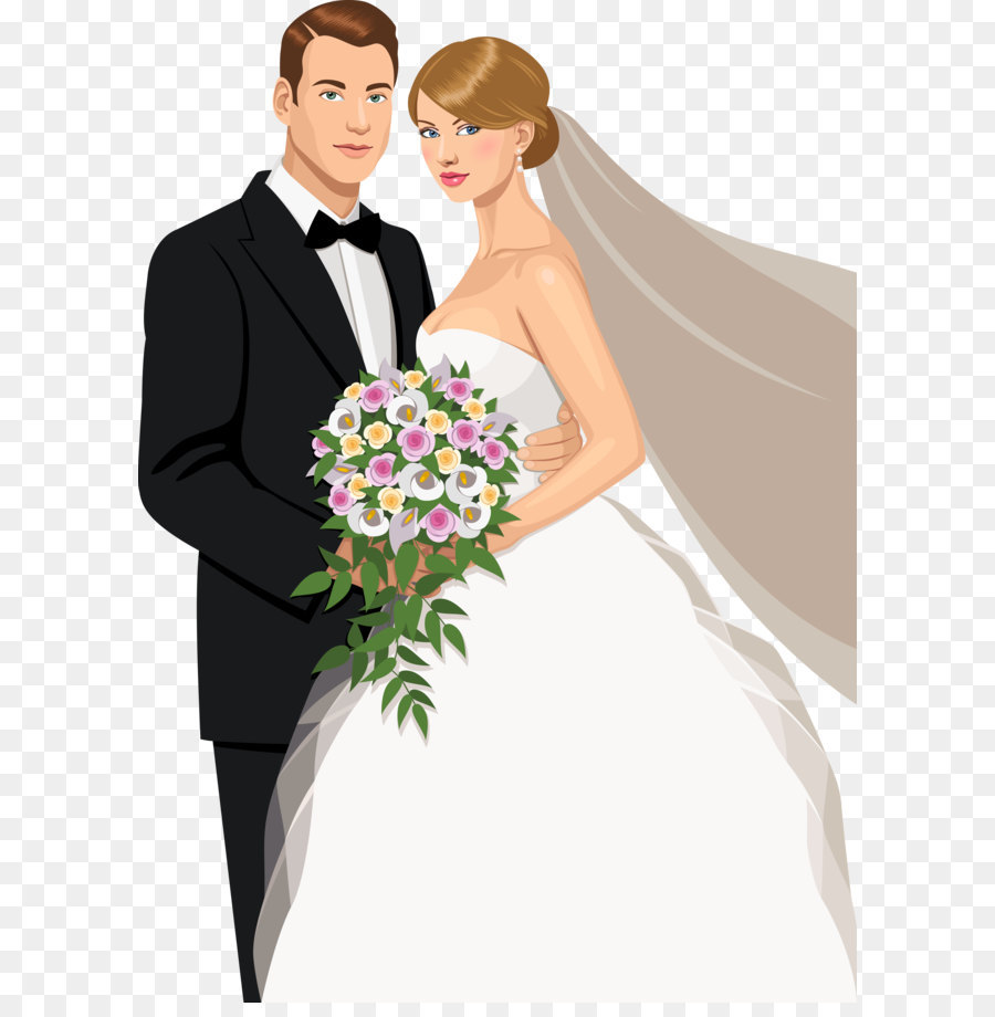 Wedding invitation Bridegroom Marriage  The bride and