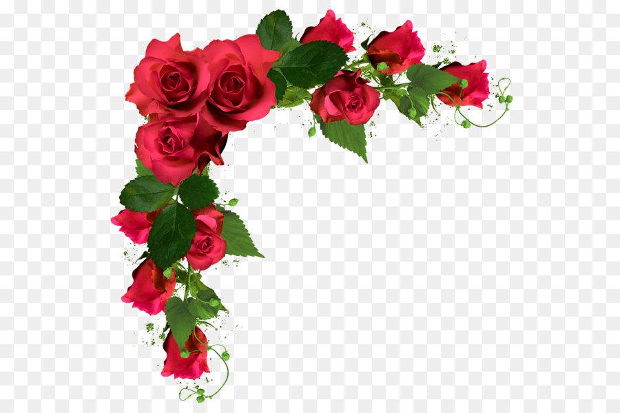 Rose Flower bouquet Clip art  Wedding flowers PNG 600592