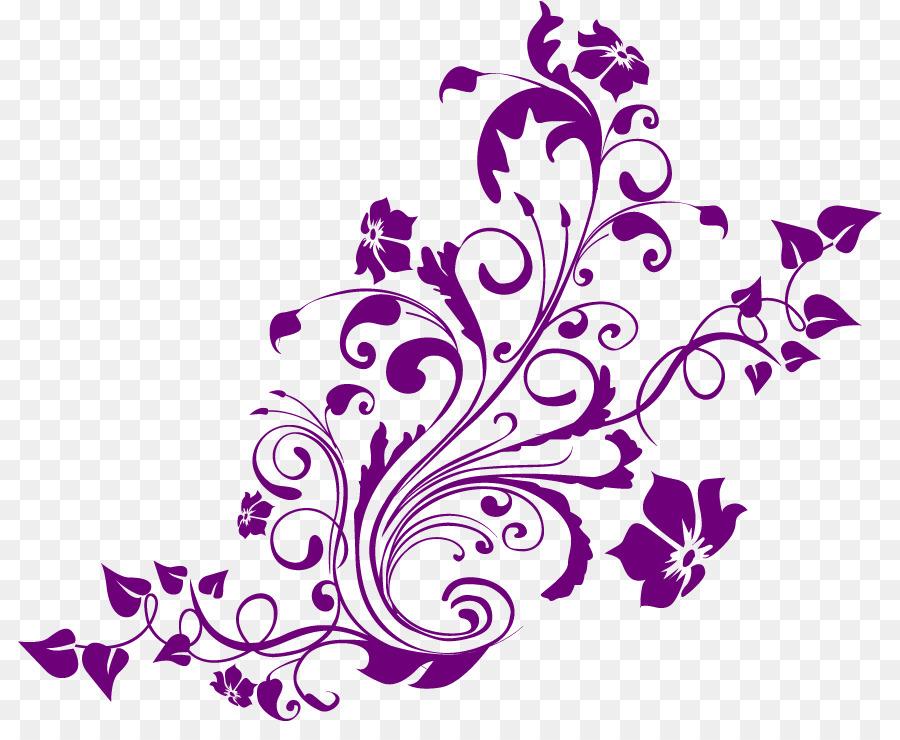 Wedding invitation Turquoise Purple Clip art