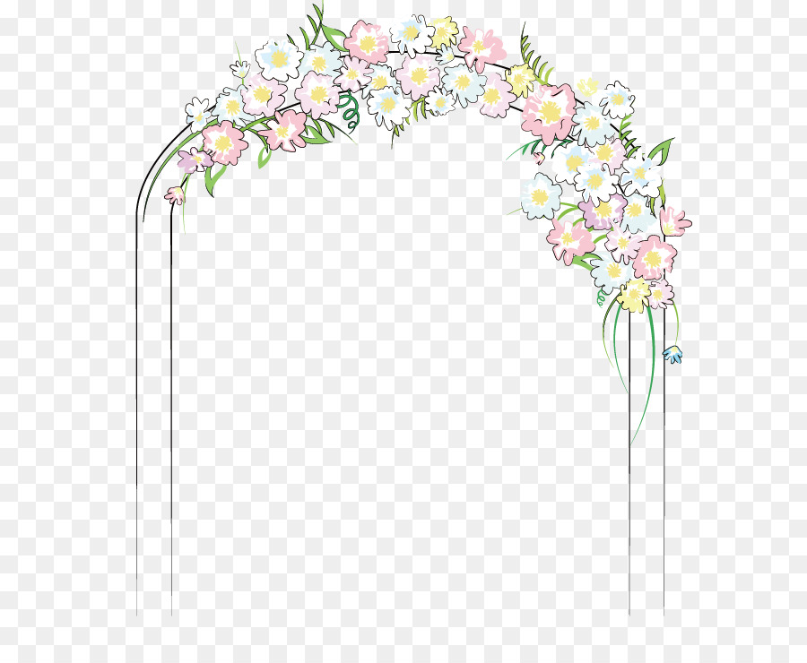 Wedding Clip art  Wedding flower door png download  700723  Free Transparent Pink png Download