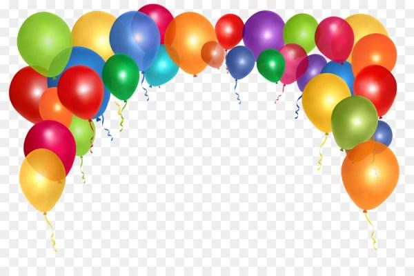 balloon clip art - colorful balloons