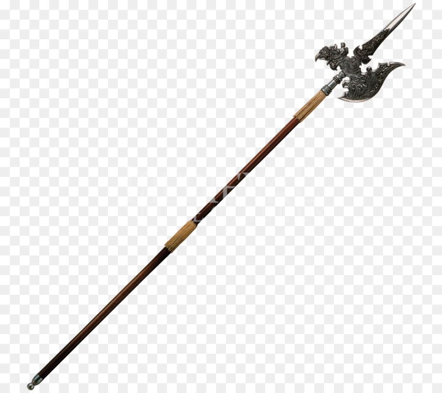 Dungeons  Dragons Weapon Halberd  Halberd PNG