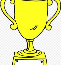 trophy award drawing line art png [ 900 x 1200 Pixel ]