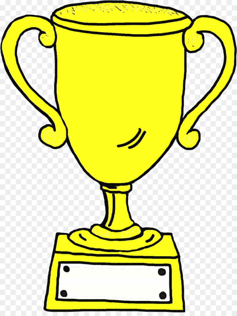 hight resolution of trophy award drawing line art png