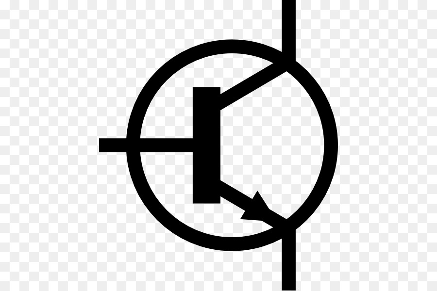 Bipolar junction transistor Electronic symbol Clip art