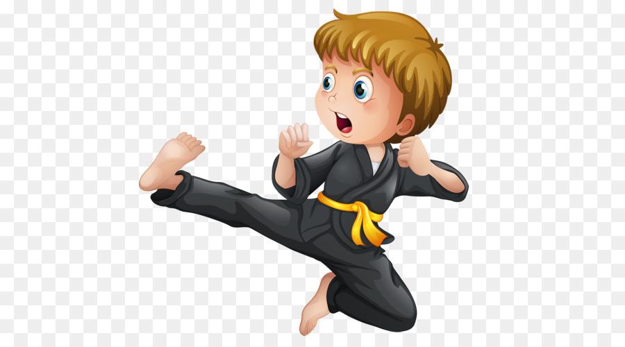 Karate Martial arts Kick Illustration  Karate PNG Image