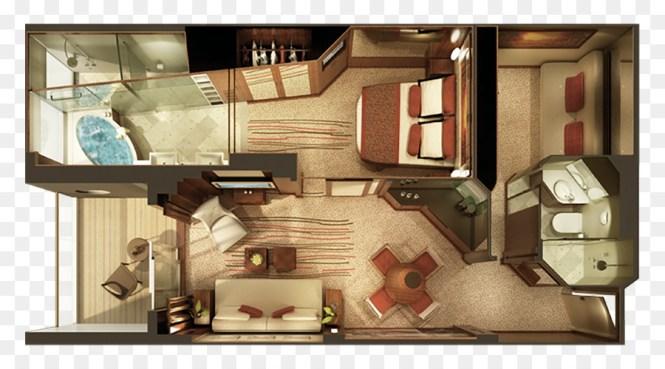 Norwegian Epic Cruise Ship Suite Home Interior Design Png