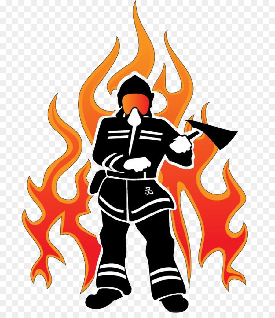 hight resolution of firefighter flame fire department art graphic design png