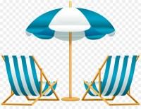 Beach Chair Umbrella Clip art