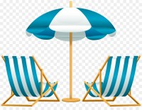 Beach Chair Umbrella Clip art - Beach sun umbrellas and ...