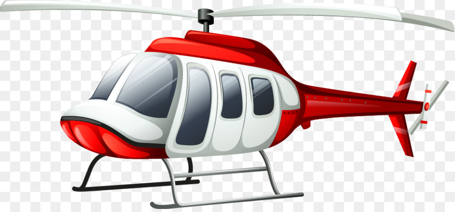 Helicopter Royalty Free Illustration Vector Cartoon