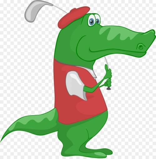 small resolution of crocodile alligator golf reptile vertebrate png