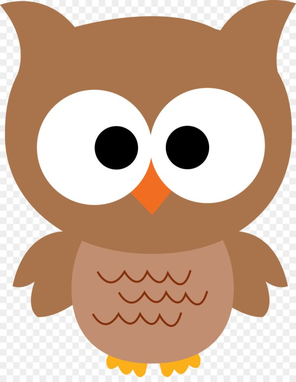 Baby Owls Clip Art - Owl Cartoon Cliparts 1239 1576 Free Transparent