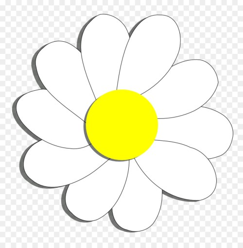 small resolution of flower common daisy coloring book point png