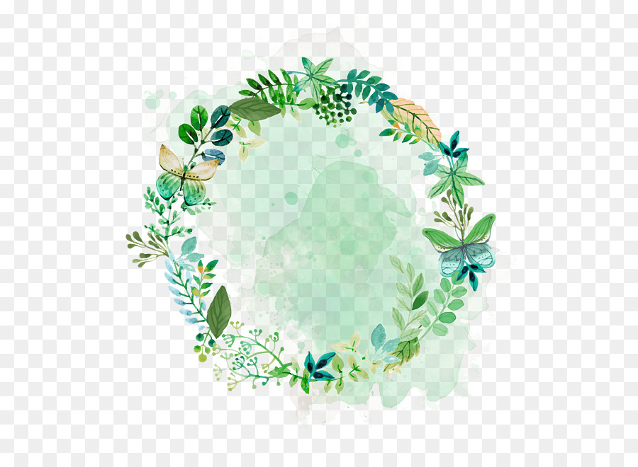 Euclidean vector Download Leaf Plant Flower  Watercolor