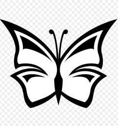 butterfly free content black and white visual arts png [ 900 x 900 Pixel ]