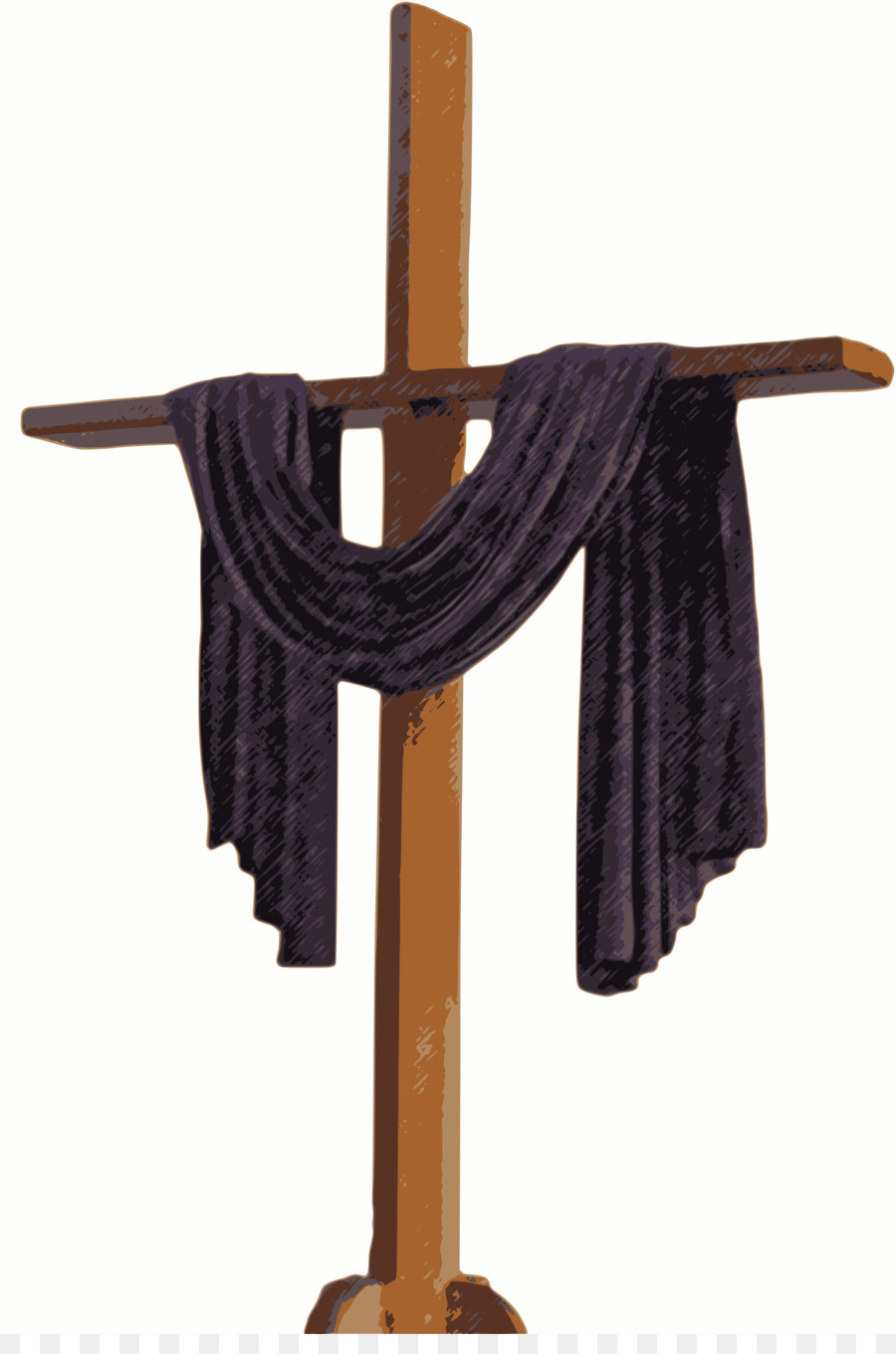 hight resolution of christian cross cross lent symbol clothes hanger png