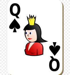 queen playing card queen of spades smile artwork png [ 900 x 1000 Pixel ]