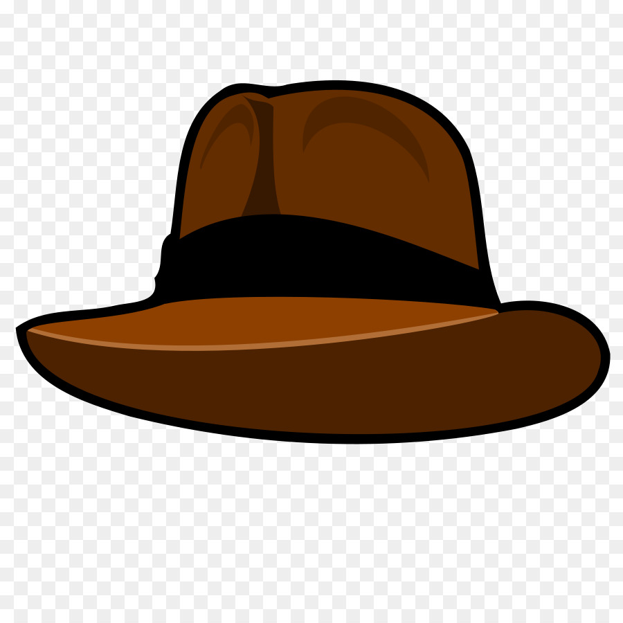 hight resolution of hat fedora cowboy hat brown png