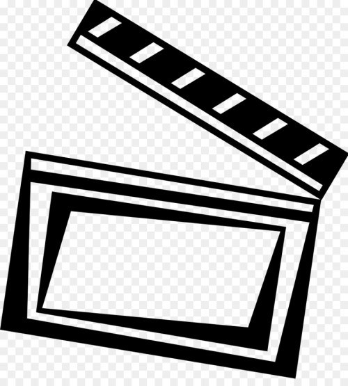 small resolution of photographic film film clapperboard square angle png