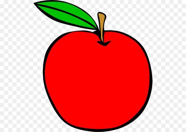 juice apple clip art - cartoon