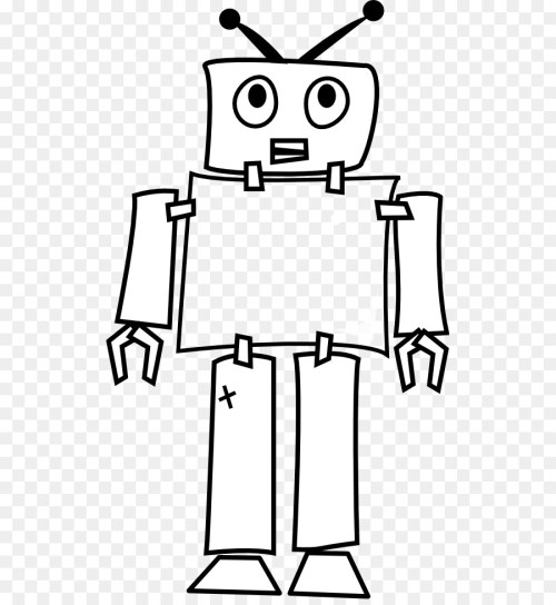 small resolution of robot line art robotics art monochrome photography png