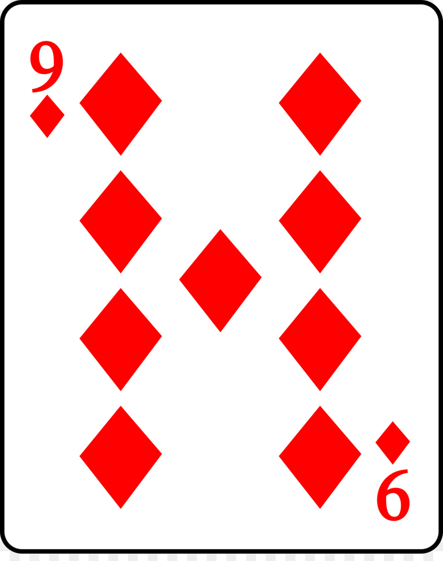 hight resolution of playing card curse of scotland suit square symmetry png