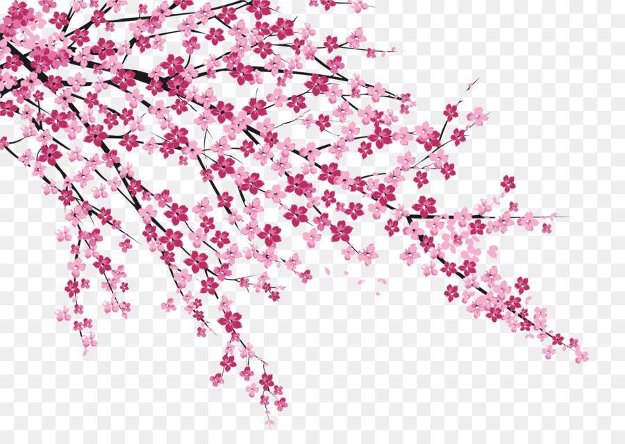Cherry blossom Sakura no Hanabiratachi Wall painting