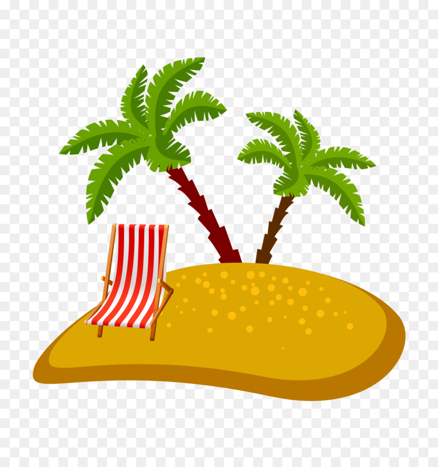 medium resolution of beach encapsulated postscript cartoon leaf tree png