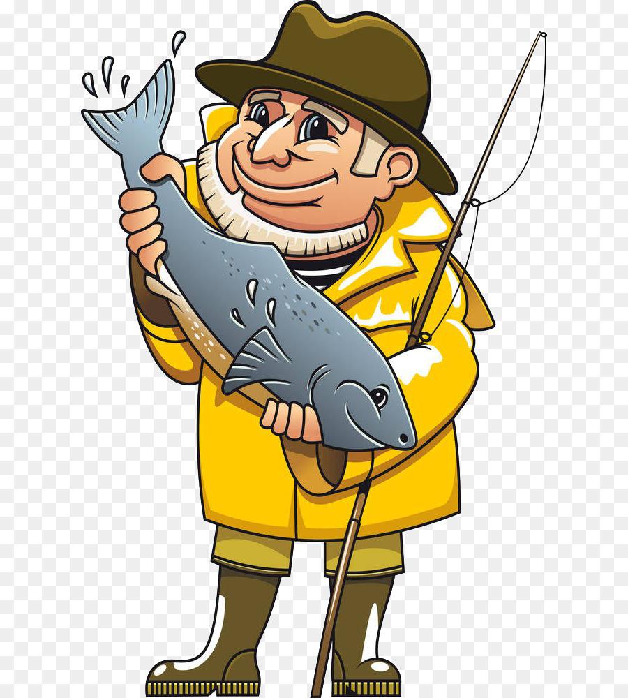 hight resolution of fisherman royaltyfree fishing human behavior art png