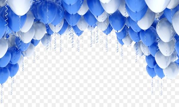 ballon stock-fotografie blauen