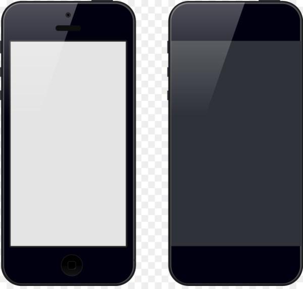 Iphone 5s 4s Smartphone Feature Phone - Vector Hand