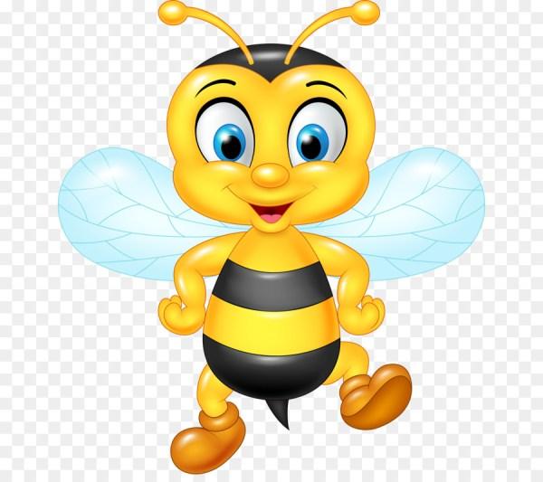 Cute Cartoon Bee Clip Art
