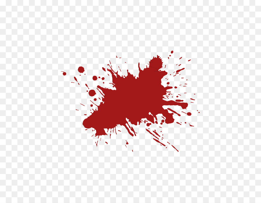 Red Computer file  Blood splash effects vector elements
