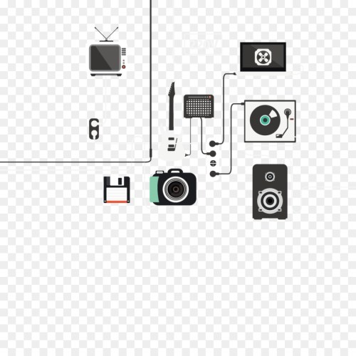 small resolution of electrical cable circuit diagram diagram square angle png